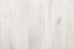 White textured wooden Board. white background Royalty Free Stock Image