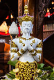 White Thai angel statue Stock Images