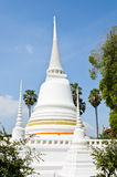 White Thai pagoda Royalty Free Stock Photos