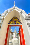 White Thai temple, Bangkok, Thailand Royalty Free Stock Image
