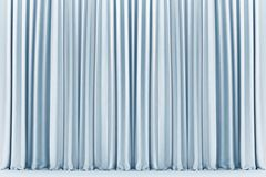White theater curtain, background Stock Images