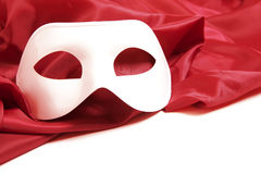 White theatrical mask Royalty Free Stock Photography
