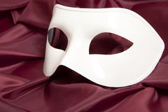 White theatrical mask Royalty Free Stock Images