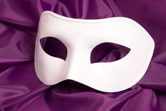 White theatrical mask Stock Photo
