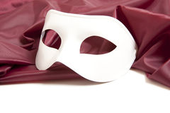 White theatrical mask Royalty Free Stock Photo