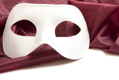 White theatrical mask Stock Photography