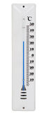 White thermometer Royalty Free Stock Image