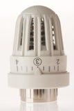 White thermostat Stock Photo