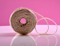 White thread Royalty Free Stock Images