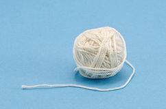 White thread ball Stock Images