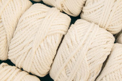 White thread spool Stock Images
