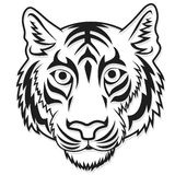 White tiger Head Mascot Team Sport cartoon Royalty Free Stock Photos