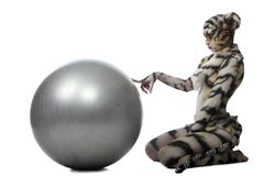 White tigress Royalty Free Stock Photos