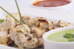 White tikka Royalty Free Stock Photography
