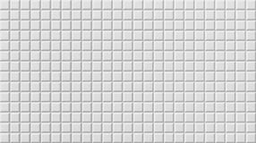 White tile flooring, seamless texture background, 3d. Illustration Royalty Free Stock Images