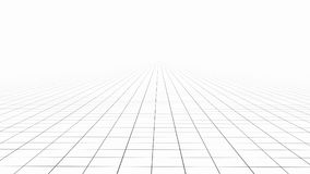 White tile flooring, texture background, 3d illustration.  Royalty Free Stock Photos