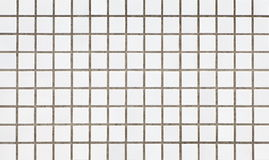 White tile wall background Royalty Free Stock Photography
