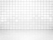 White tile wall Royalty Free Stock Images
