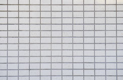 White tiled wall background Royalty Free Stock Photos