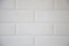 White tiled wall Royalty Free Stock Photo