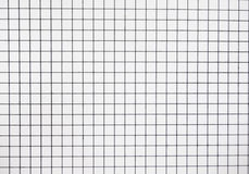 White tiles paper Stock Photography