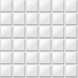 White tiles seamless pattern. Vector texture Royalty Free Stock Photography