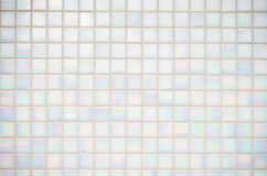 White tiles texture Royalty Free Stock Image