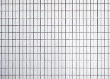 White Tiles wall Pattern background Stock Photography