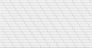 White timber wood slats pattern. seamless background, 3d. Illustration Royalty Free Stock Photo