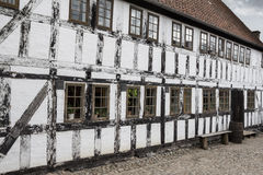 White timbered house Royalty Free Stock Photos
