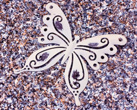 butterfly decoration Royalty Free Stock Photos