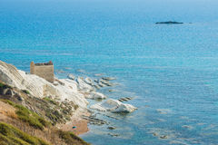 White tip, Agrigento in Sicily - Italy Stock Photography