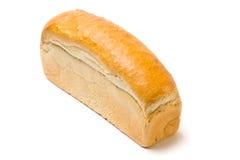 White toast bread. Isolated on white background Stock Photo