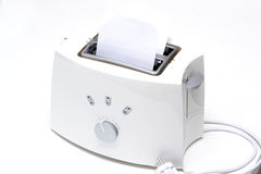 White toaster Royalty Free Stock Photo