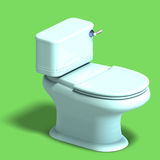 White toilet Royalty Free Stock Photo