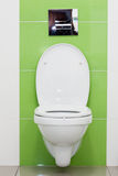 White toilet bowl Stock Photography