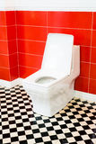 White toilet bowl Royalty Free Stock Photos