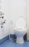 White toilet bowl Royalty Free Stock Photography