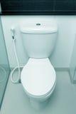 White toilet bowl Royalty Free Stock Photography
