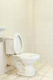 White toilet bowl Stock Image