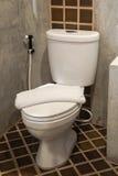 White toilet bowl Royalty Free Stock Photo