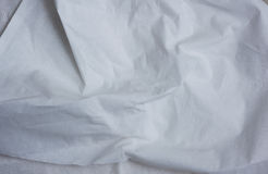 White toilet paper. White Crinkled toilet paper texture. Ideal for background Royalty Free Stock Photos