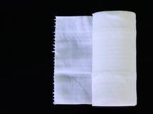 White Toilet Paper Tissue Rollon Royalty Free Stock Photos