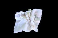 White Toilet Paper Tissue Rollon Stock Photo