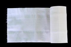 White Toilet Paper Tissue Rollon Royalty Free Stock Photography