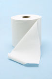 White toilet roll Stock Image
