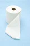 White toilet roll Stock Photo