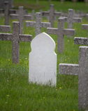 White tomb Muslim in Vieil Armand, France Stock Image