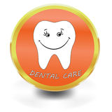 White Tooth Icon, dental care, Stock Photo