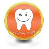 White Tooth Icon, dental care, Stock Photo